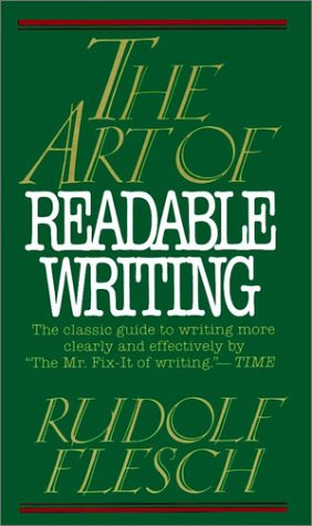 9780020464709: The Art of Readable Writing