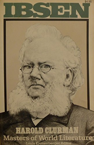 9780020496502: Ibsen (Masters of World Literature)