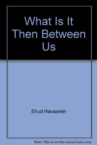 9780020517504: What is it then between us?: Stories (Collier fiction)