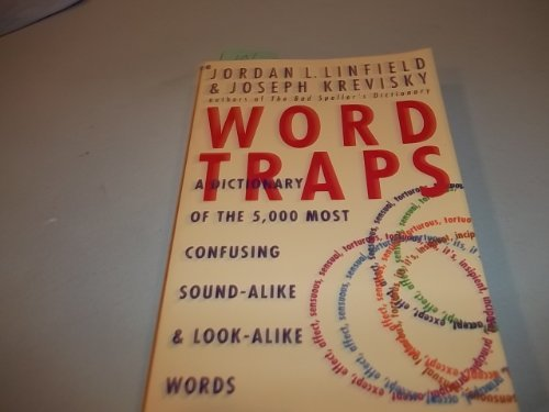 9780020527510: Word Traps: A Dictionary of the 5,000 Most Confusing Sound-Alike and Look-Alike Words