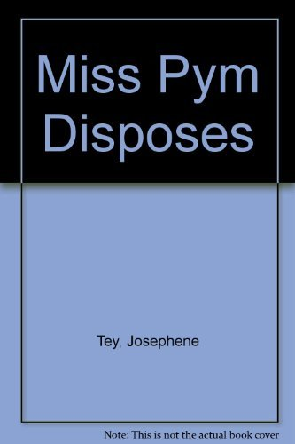 9780020540540: Miss Pym Disposes