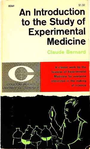 9780020583509: Introduction to the Study of Experimental Medicine