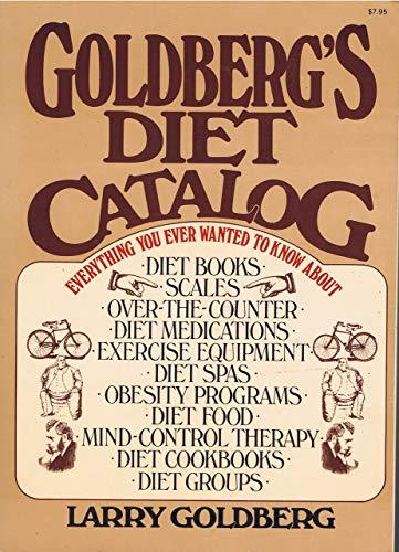 9780020590002: Goldberg's Diet Catalog