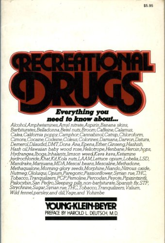 9780020599005: Recreational Drugs