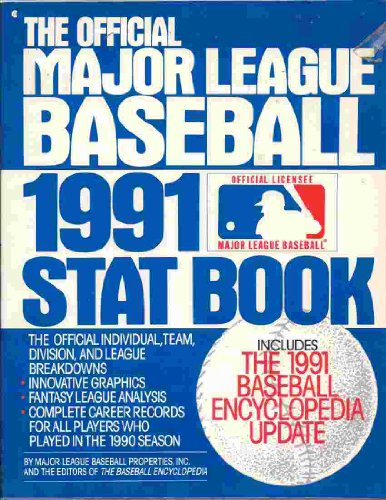9780020633815: The Official Major League Baseball Stat Book 1991
