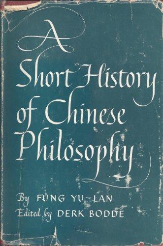 9780020653509: Short History Chinese Philosophers