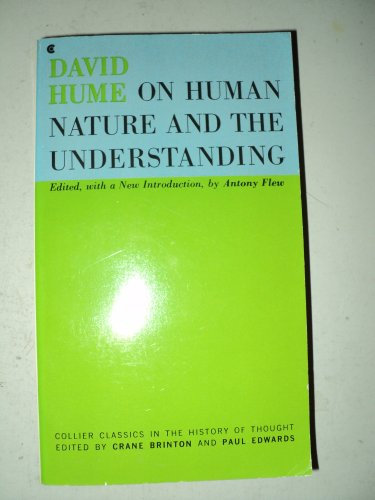 9780020658306: On Human Nature and the Understanding