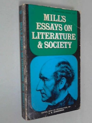 9780020664208: Essays on Literature and Society (Classics in History of Thought)