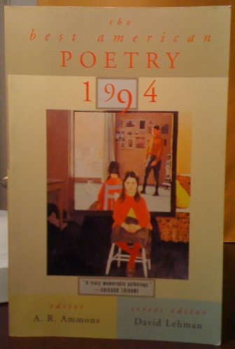 9780020698470: The Best American Poetry 1994