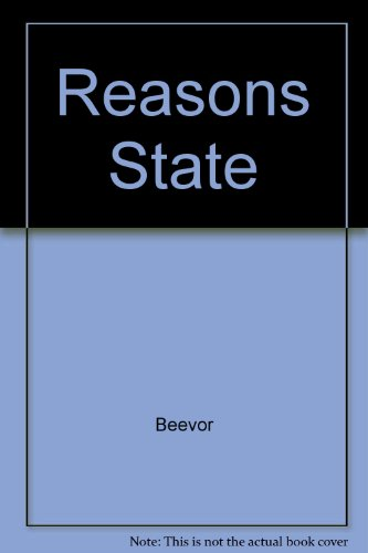 9780020721017: For Reasons of State (Collier spymasters series)