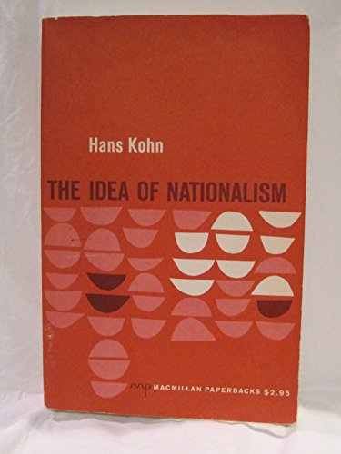 9780020736608: Idea of Nationalism