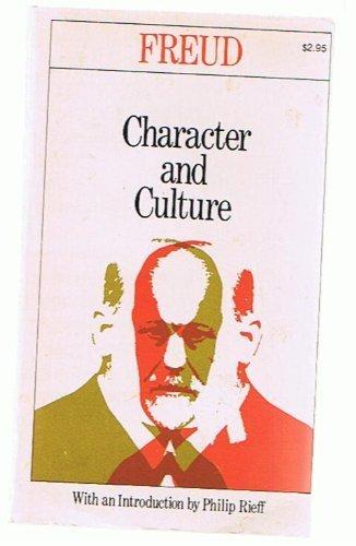 Character & Culture: Freud, Sigmund