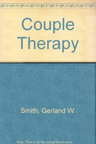 9780020780007: Couple Therapy