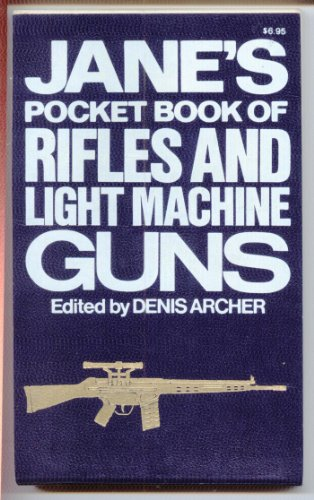 9780020799801: Jane's pocket book of rifles and light machine guns
