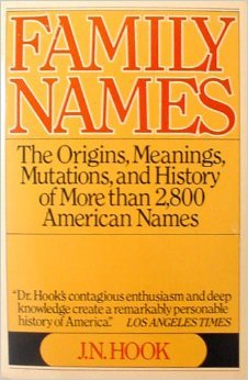 9780020800002: Family Names: The Origins, Meanings, Mutations, and History of More Than 2,800 American Names