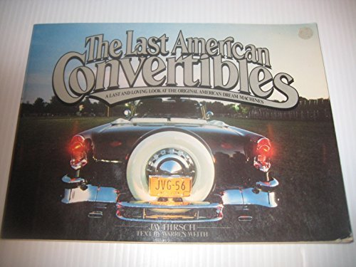 The Last American Convertibles