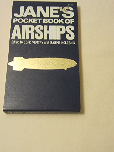 9780020803300: Jane's pocket book of airships