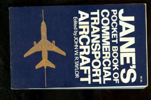 9780020804802: Jane's Pocket Book of Commercial Transport Aircraft