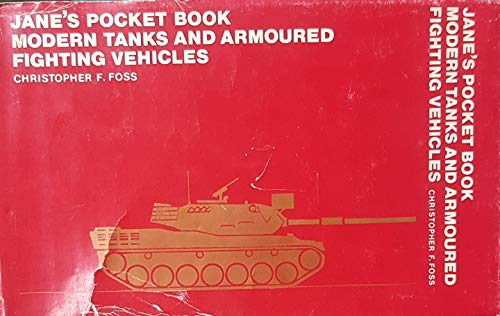 9780020806103: Jane's Pocket Book of Modern Tanks and Armored Fighting Vehicles