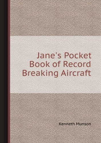 9780020806301: Jane's Pocket Book of Record Breaking Aircraft