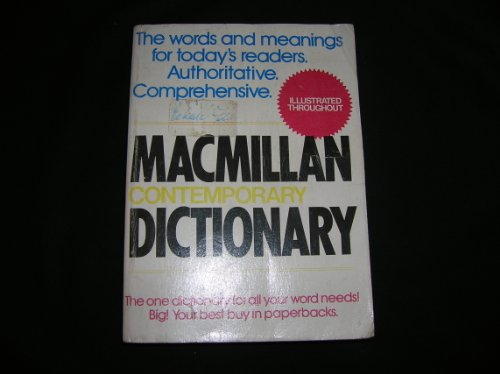 9780020807803: Macmillan Contemporary Dictionary