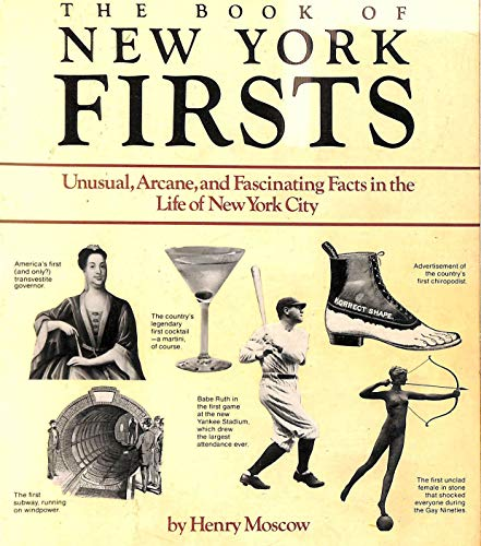 9780020809609: Book of New York Firsts