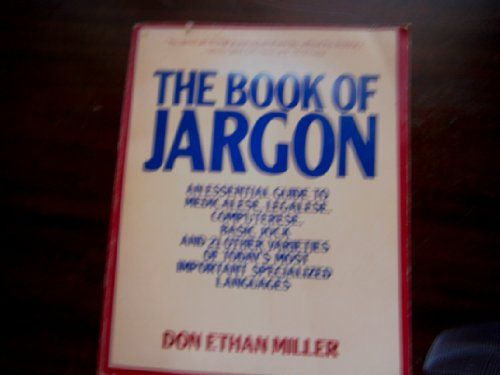 9780020809708: The Book of Jargon
