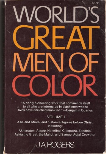 9780020813002: The World's Great Men of Color: v. 1
