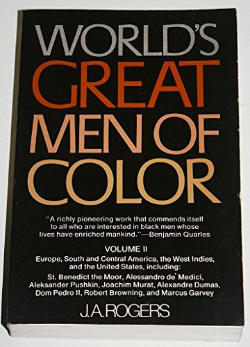 World's Great Men of Color (9780020813101) by J.A. Rogers