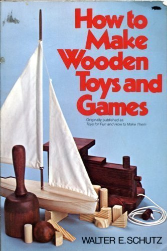 9780020819509: How to Make Wooden Toys and Games