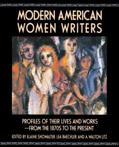 9780020820253: Modern American Women Writers