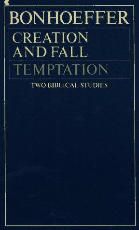 9780020838906: Creation Fall Temptation