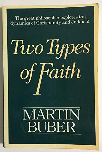 9780020841807: Two Types of Faith
