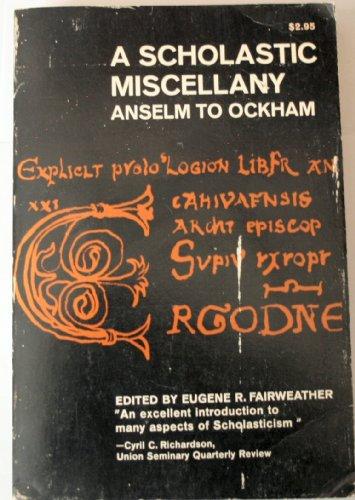 9780020847809: Scholastic Miscellany: Anselm to Ockham