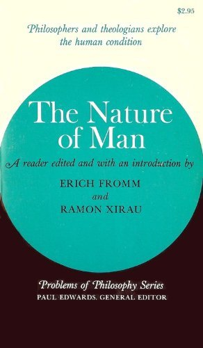 9780020849605: The Nature of Man (Problems of Philosophy)