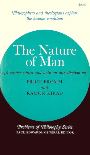 9780020849605: Nature of Man (Problems of Philosophy)