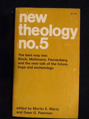 9780020873808: New Theology: No. 5