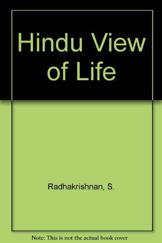 9780020888307: Hindu View of Life