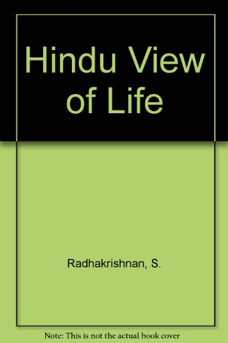 9780020888307: Hindu View of Life