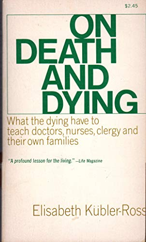 9780020891307: On Death and Dying