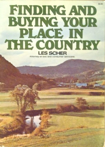 9780020892007: FINDING AND BUYING YOUR PLACE IN THE COUNTRY