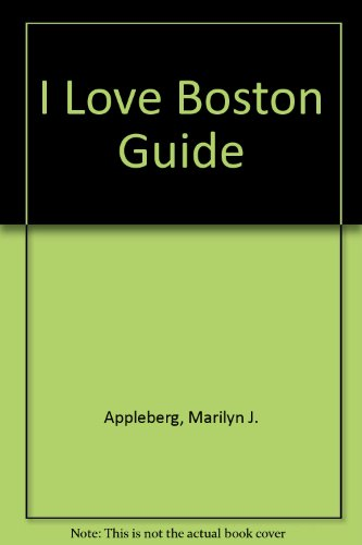 9780020973010: I Love Boston Guide
