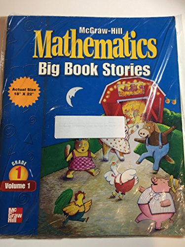 9780021003297: Mcgraw-hill Mathematics: Big Book Stories: Grade 1: Volume 1