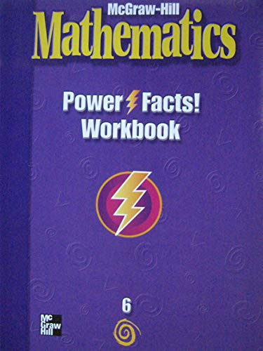9780021005062: MATHEMATICS POWER FACTS WORKBOOK GRADE 6