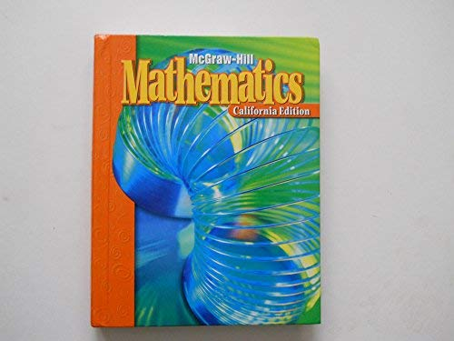 9780021006144: McGraw Hill Mathematics (California Edition, Level 3)