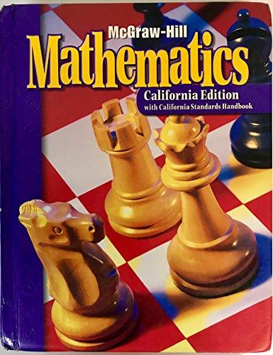 9780021006175: McGraw Hill Mathematics: California Edition Grade 6