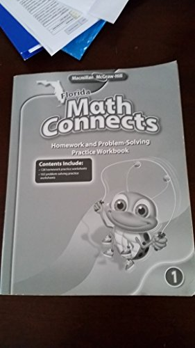 9780021011759: Florida Math Connects Grade 1 Homework and Problem-Solving Practice Workbook (Florida Math Connects)