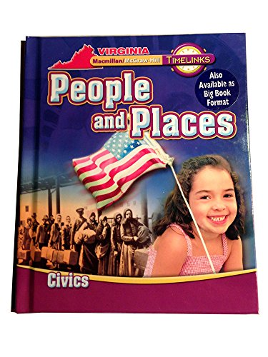 9780021014286: People and Places - Civics - Timelinks Virginia Edition