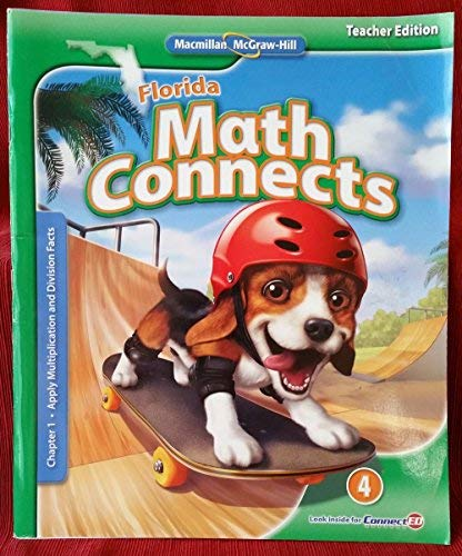9780021017096: Math Connects Chapter 1 Apply Multiplication and Division Facts TE