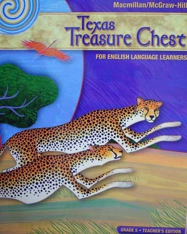 9780021024773: Texas Treasure Chest, English Language Learners, Grade 5, Teacher's Edition